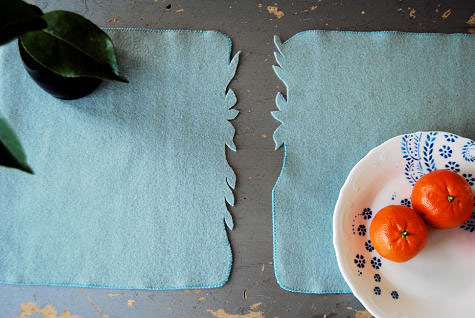 diy projectkellys midsummer night placemats Design*Sponge