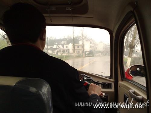 Riding to Baodingshan