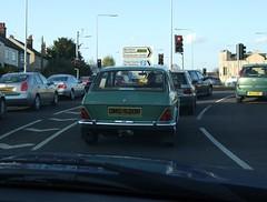 1976 Austin Maxi (Stuart Axe) Tags: austin austinmaxi maxi classic car classiccar 1970s 1976 rover britishleyland morriscars austinrover landcrab leyland bmc unlimitedphotos german germany stuttgart mercedesbenz japan japanese