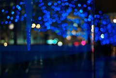 shades of orion (futureancient) Tags: blue glass bokeh scifi icicle engage lightspeed subspace leicam8 noctiluxf10 futureancient warpspeedmrsulu fluxcapacitorsetc