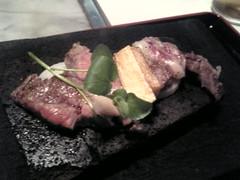 淡路牛石焼きステーキ