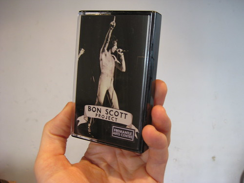 bon scott project cassette tape