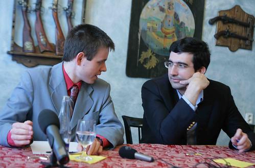 Press Conference - Navara - Kramnik