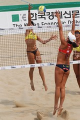 Who wants it more? () Tags: women attack womens beachvolleyball seoul donne block mulheres mujeres femmes nationalteam vrouwen frauen   kobiety republicofkorea  fivb eny nationalmannschaft kvinder landslaget  naiset   femei reprezentacija  squadranazionale vleyplaya kvinnor  equiponacional  songpagu  ene   echipanationala chenxue   swatchfivbworldtour hangangcitizenspark seoulopen bangidong  2008fivb  voleiboldepraia   rachelwachnolder          lquipenationale nrodntm