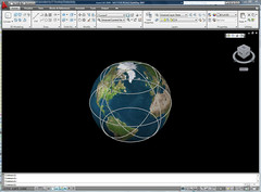 AutoCAD 2009 Earth