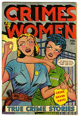 Crimes By Women #11 (terr-bo) Tags: comics gangster women jail comicbooks violence 1950 truecrime thefifties womeninprison gunmolls crimebabe
