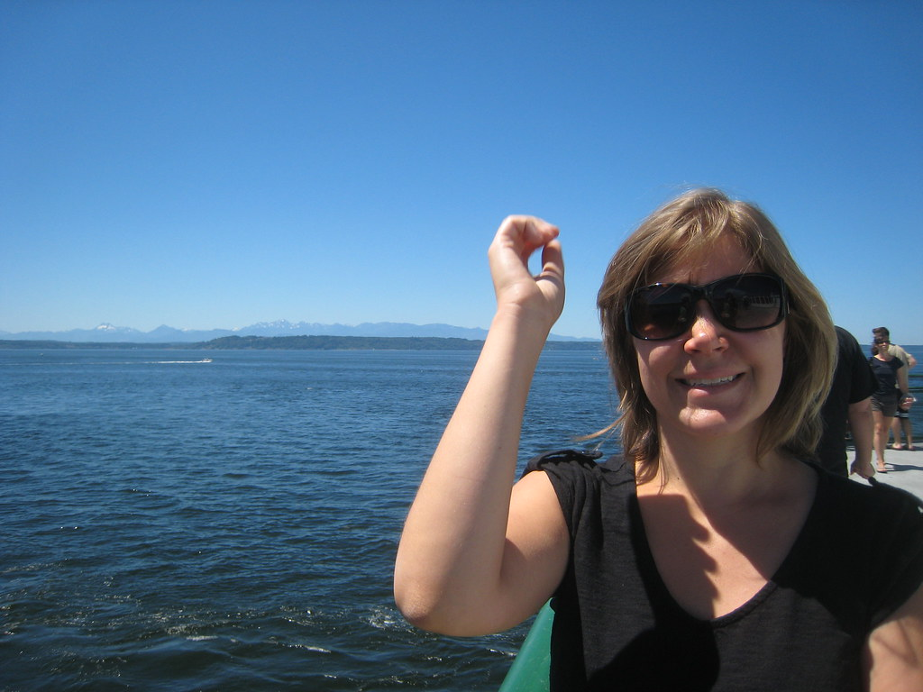 Ferry Ride to Kingston (Washington)