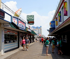 Dumser's has been a part of the history of the Ocean City Boardwalk since 1939 ~ Dolle's Candyland specializes in homemade salt water taffy Since 1910