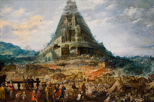 La tour de Babel par sainz