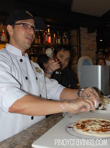California Pizza Kitchen Make your Own Pizza Event