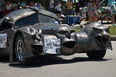 Artcar Parade - Gargoyle Car 2