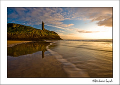 Ladies Beach - Ballybunion (ATL-Photography) Tags: ocean ireland sea summer sky lynch green castle beach clouds strand sunrise photography evening photo spring warm atl ruin picture kerry ballybunion atlantic photograph rosepetal kildare clane ballylongford aindreas eunset atlphotography