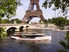 Bateau Mouche on river Seine near the Pont d'Iéna and Eiffel Tower in Paris (JPC24M) Tags: bridge tourism statue boat dock holidays flag carousel tourist toureiffel promenade newyorkavenue navigation tourisme drapeau fleuve croisière touriste seineriver vedette escursion seineàparis avenuedenewyork rivièreseine vedettesdeparis seineinparis vedettesdepariscom vedetteàparis