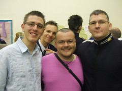 Fraser, Adam, me and Brian