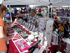 Jewelry booth @ Kyle Fair and Music Festival