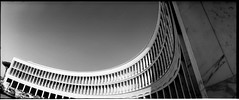 Re-shaped #1 (giuli@) Tags: blackandwhite bw panorama rome roma film topf25 analog geotagged iso100 tmax 100v10f panoramic eur horizon202 architettura tmax100 yellowgreenfilter kodaktmax100 kodaktmax blackandwhitefilm 100tmx monoc architetturaromamor giuliarossaphoto bnarchitettura bncitt bnfotografiaanalogicaitalia eurromamor quickcollection noawardsplease filtroverdegiallo geo:lat=41835277 geo:lon=12472733 nolargebannersplease