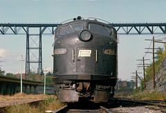 E-8 4058 at Poughkeepsie (brooklynparrot) Tags: newyork trains locomotives railroads oldtrains penncentral ghostrails