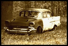 57 Chevy decomposing