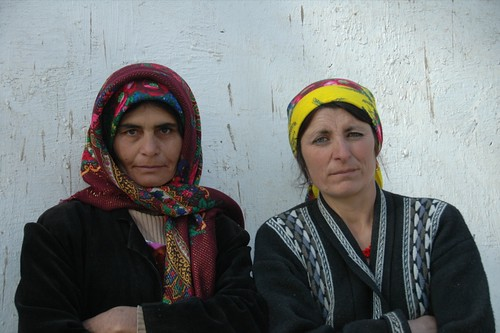 Tajik Women Focused on Visas