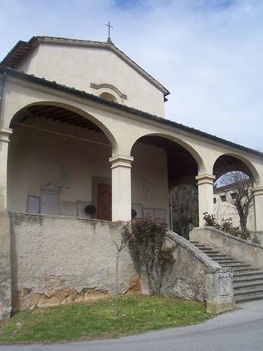la Chiesa di Bonistallo a Poggio a Caiano