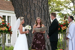 Stacie, Shannon, Jordan and Kevin - Reading (JordanMGregory) Tags: wedding stacie ceremony jordan