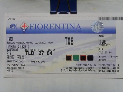 Pronto per Fiorentina - Inter