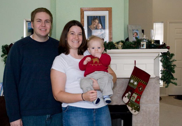 The Rowland Family Christmas Photo - 2007