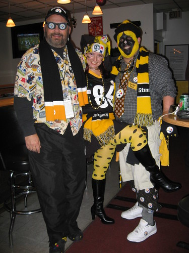 Steelers Party winner costume