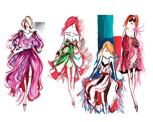 Fashion Illustration I by Accademia Italiana Skopje.