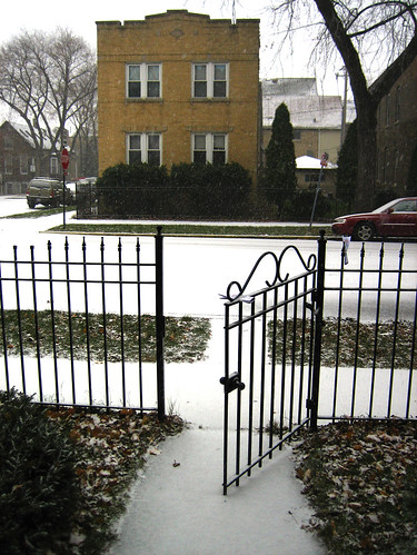 Snow - Front Gate
