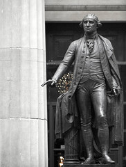 George Washington Statue at Federal Hall, Wall Street, New York by Joseph Hoetzl, on Flickr
