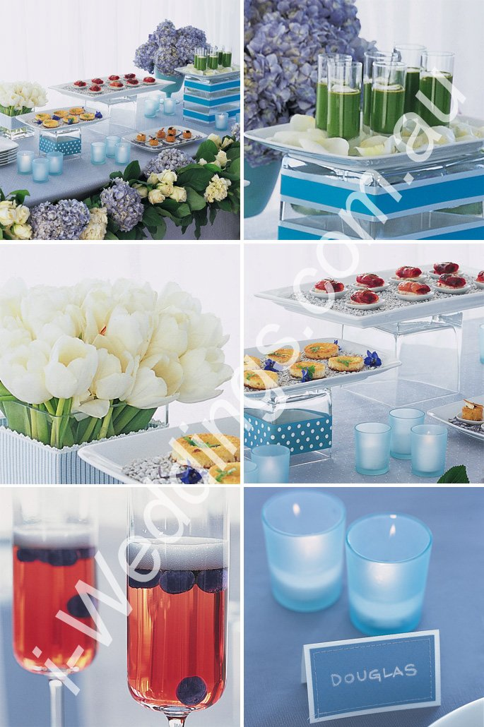 iLoveThese ideas for a something blue wedding1