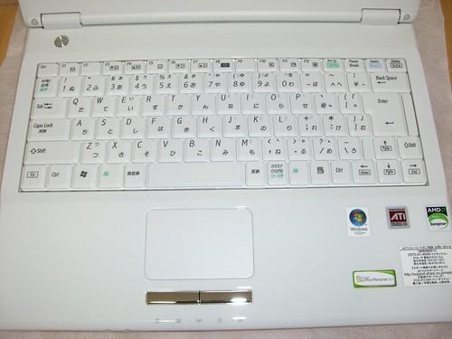 Mebius PC-CW50V キーボード