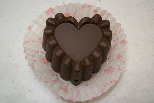 Heart-Shaped Buckeye For Valentine's Day