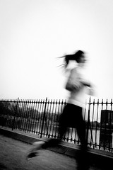 run (.michaelchung) Tags: park nyc newyorkcity woman living blurry manhattan central run michaelchung series jogging jog storytelling