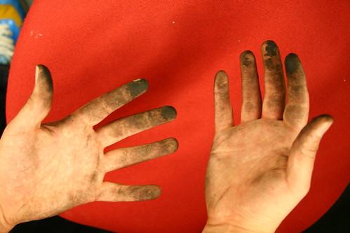 laser hands by josephbergen, on Flickr