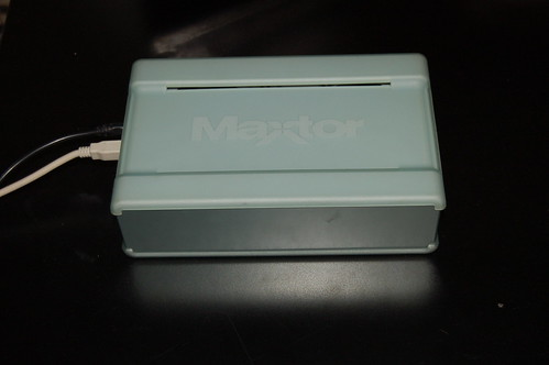 Maxtor 200 GB External Hard Drive