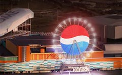 Pepsi Ferris wheel at Xanadu