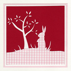 WD_red (FogAndThistle) Tags: silhouette triptych down papercut watership fogandthistle