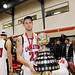 Carleton Ravens beat the University of Western Ontario Mustangs to clinch the OUA Wilson Cup, Daron Leonard.