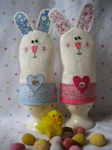 easter bunnies eggs. Easter Bunny Egg Cosies