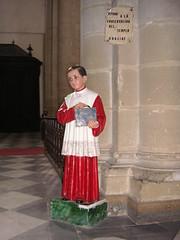 Una limosna (javiermerchante) Tags: catedral baeza monaguillo practicadocente20