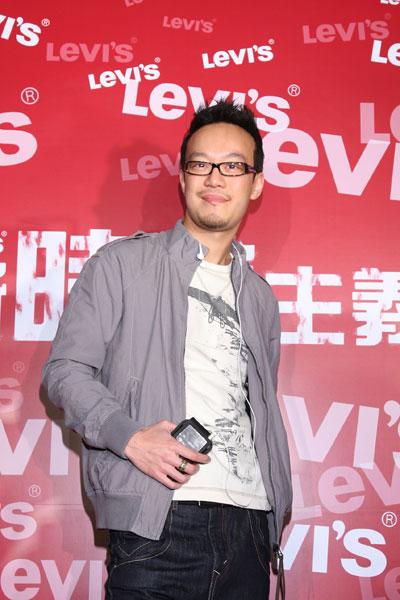Levi's 08/SS Fashion Show 現場