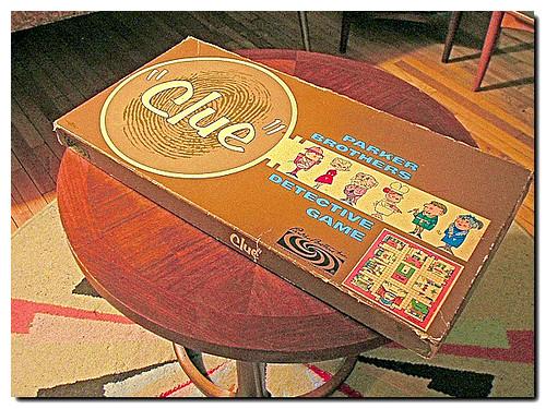 Clue Game 1960