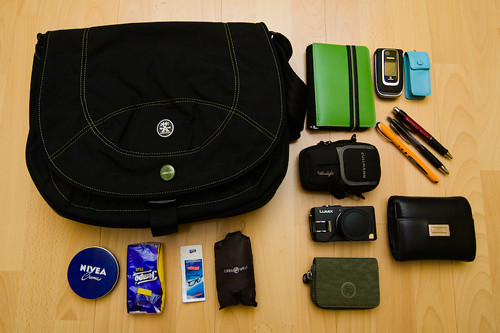 bag paper lumix flickr meme crumpler mybag 40d manuelahoffmann itemswecarry