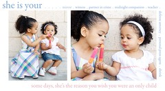 sisters. (diyosa) Tags: sisters diptych quote naturallight sharing popsicle belaire d300 1750mm28 easter08 makesmewishiwasntanonlychild ohwellmoretoysforme