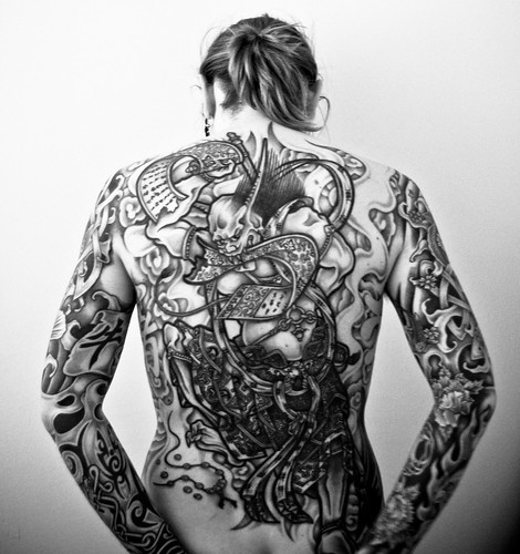 Tattoo Eus. backpiece