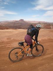 IMG_3442.JPG (hukee) Tags: white utah mtb canyonlands moab rim niner orbea