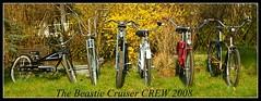 Flickred cruiser crew (kroywen68) Tags: germany bikes cruiser beachcruiser bcb beastiecustombikes