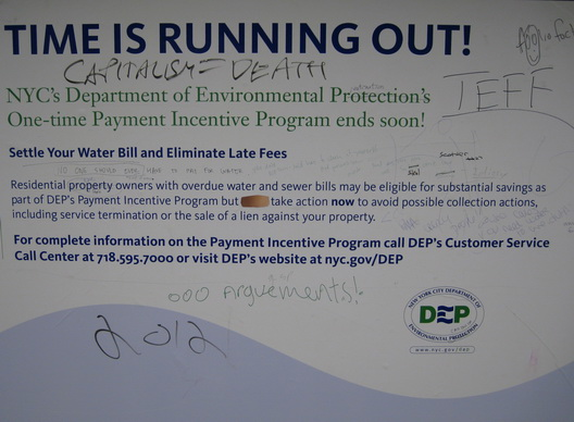 Water Bill Poster One